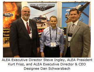 APSA Executive Director Steve Ingley, APSA President Kurt Frisz, and APSA Executive Director & CEO Designee Dan Schwarzbach